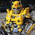 Cosplay de transformers feitos com lixo (12 fotos)