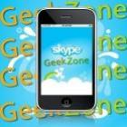 Skype para iPhone faz video-chamadas.