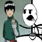 Cereal Guy e Rock Lee