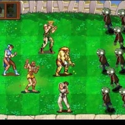 Street Fighter II Versus Plants vs. Zombies?