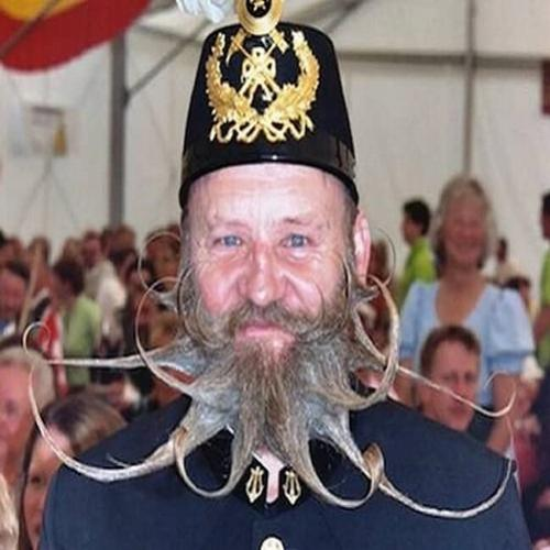 Os penteados de barbas mais esquisitos do mundo
