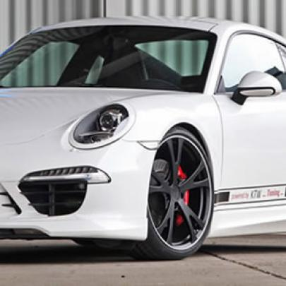 Tuning do Porsche 911 surpreende