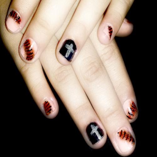 Unhas decoradas para o Halloween 3º parte!