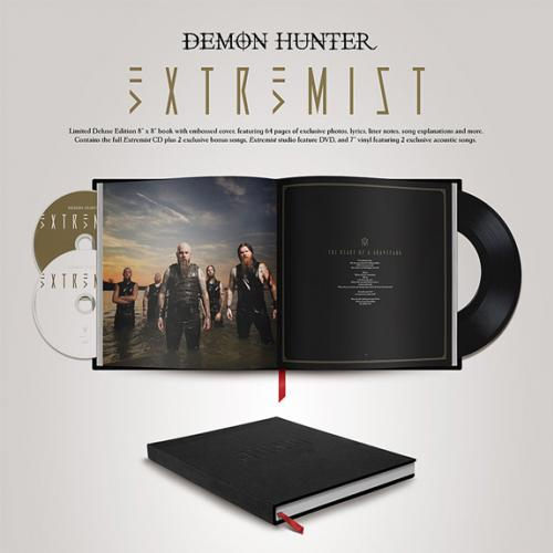 Resenha Cd Demon Hunter -- Extremist-(Deluxe-Edition)