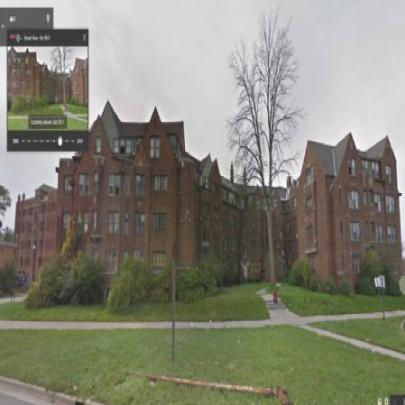 A decadência de Detroit no Street View