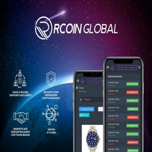 Rcoin global marketplace: uma alternativa descentralizada às grandes l