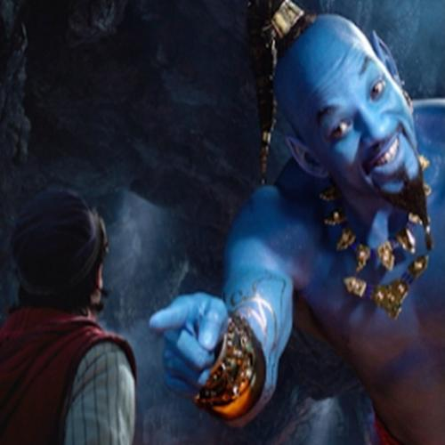 Aladdin will smith recria clássica