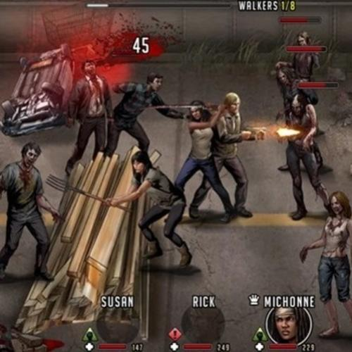 Game Walking Dead: Sobrevivência - Android