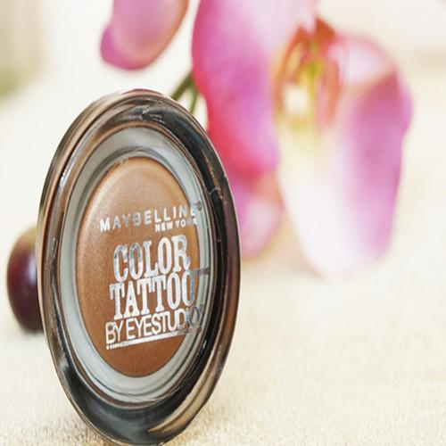 Resenha da Color Tattoo 24hr Maybelline – 25 Bad to the Bronze