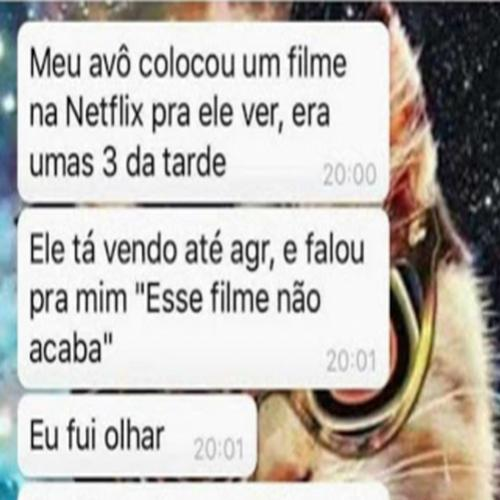 As aventuras do vovô no Netflix
