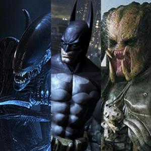 Batman Vs Predador & Alien