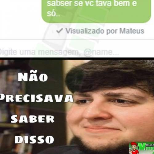Noob é sincero demais