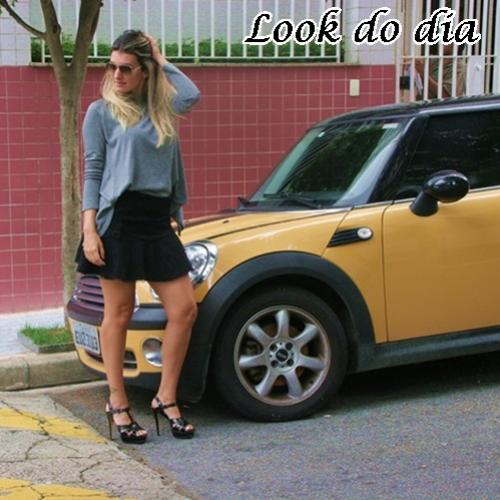 Look do dia: Shorts saia !