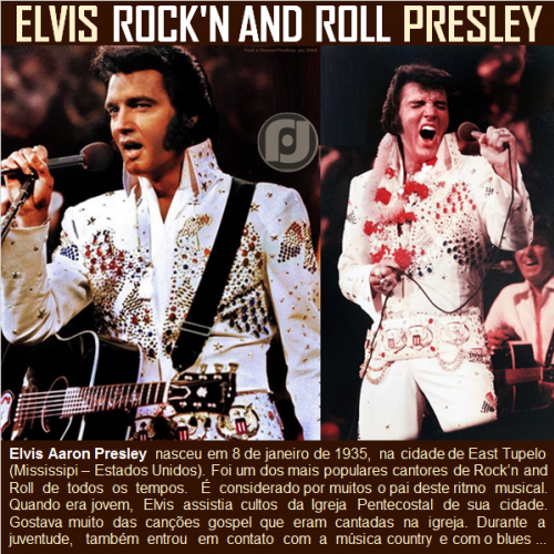 Elvis Aaron Presley: O maior Rock'n and Roll