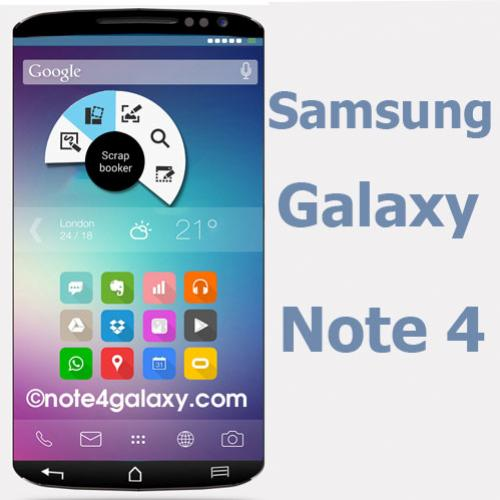 Galaxy Note 4 da Samsung câmera com sensor exclusivo