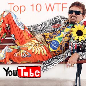 Top 10 vídeos mais WTF do Youtube #1