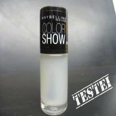 Testei: Base Coat Color Show – Maybelline