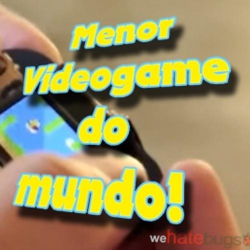 Menor videogame do mundo