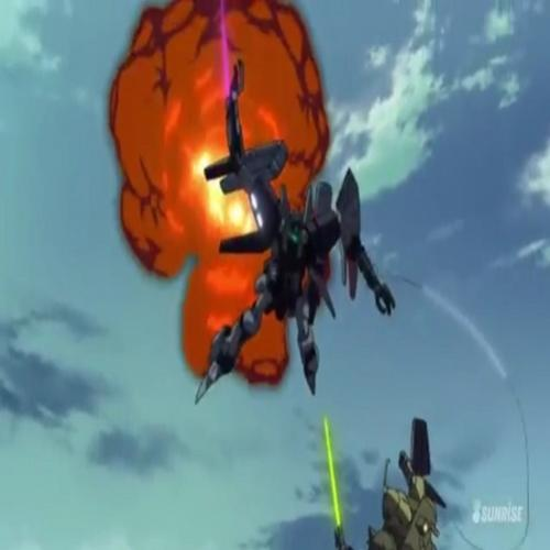 Analise:Gundam Unicorn RE 0096 Ep 12