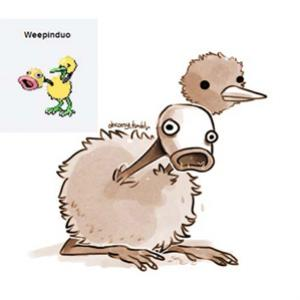 Pokemon Fusion e Weepinduo: Please Kill Me!
