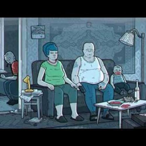 THE SIMPSONS. Russia Art Film Version