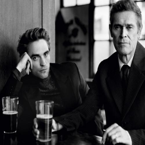 Willem Dafoe e Robert Pattinson na Esquire