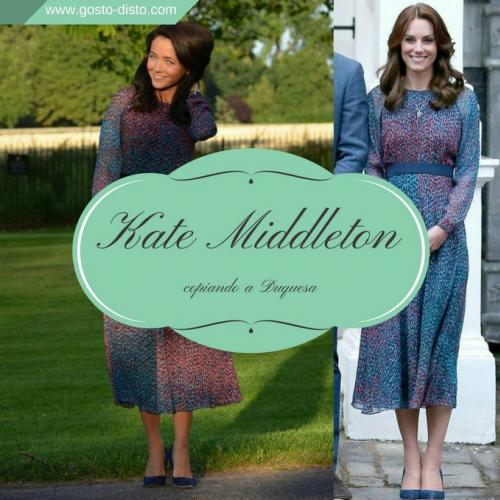 Copiando os looks da Kate Middleton e bombando no instagram