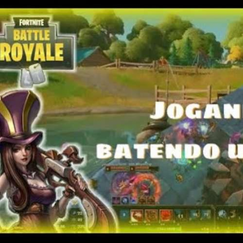 Live do Fim de semana no Fortnite e no LOL!