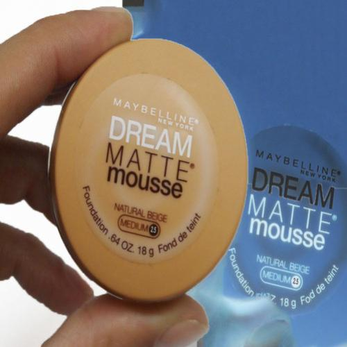 Resenha da Base Dream Matte Mousse – Maybelline