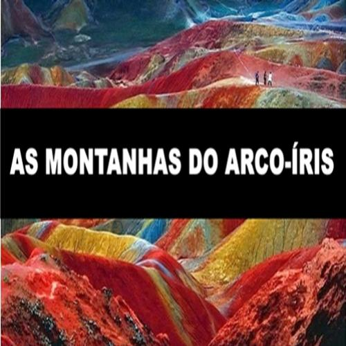 As montanhas do arco-íris na China