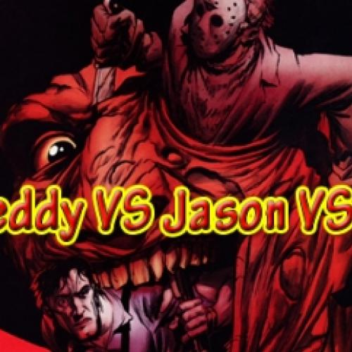 Freddy VS Jason VS Ash - Completo