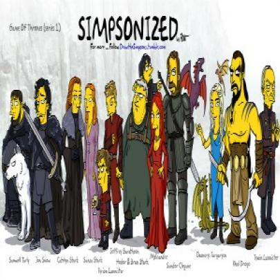 Simpsons of Thrones