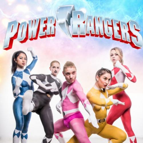 Power Rangers Body Paint
