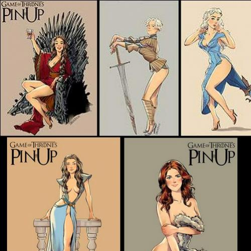 PinUps de Game Of Thrones
