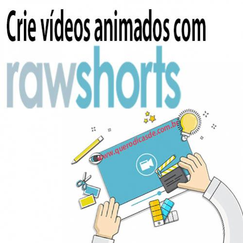 Raw Shorts: Crie vídeos animados para o Youtube