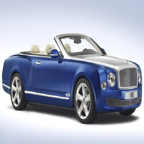 Bentley Grand Convertible: para poucos!