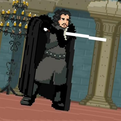 Assista a luta entre John Snow e Jaime Lannister, estilo video game!