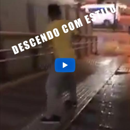Como descer as escadas com estilo