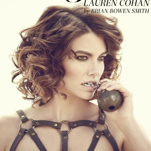 Lauren Cohan, a Maggie de The Walking Dead posa para revista Imagista