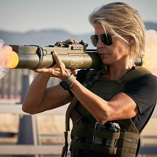Sarah Connor no trailer de O Exterminador do Futuro: Destino Sombrio