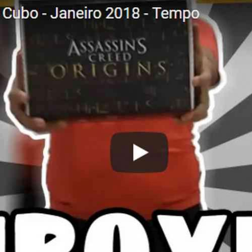 Unboxing - Nerd ao Cubo - Janeiro-2018 - Tempo