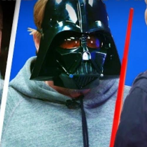 Mark Hamill surpreende seus fãs no Star Wars Day
