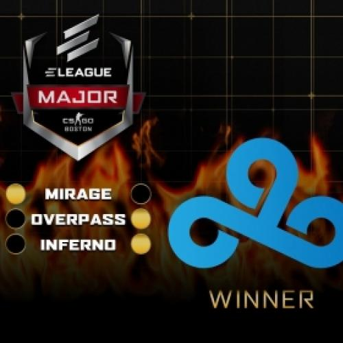 Cloud9 bate FaZe Clan e é Campeã da Eleague Major: Boston 2018 de CSGO